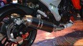 Mahindra Mojo exhaust detail live