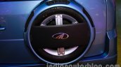Mahindra Quanto autoSHIFT AMT spare wheel at Auto Expo 2014