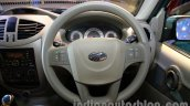 Mahindra Quanto autoSHIFT AMT steering wheel at Auto Expo 2014