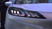 Mahindra Reva HALO concept headlamp detail live