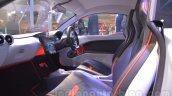 Mahindra Reva HALO concept seats live