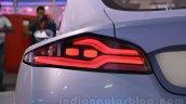 Mahindra Reva HALO concept taillight live