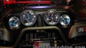 Mahindra Thar Midnight Edition Auto Expo bumper front
