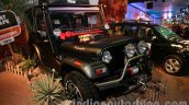 Mahindra Thar Midnight Edition Auto Expo front quarters