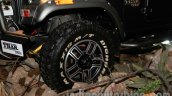 Mahindra Thar Midnight Edition Auto Expo wheel