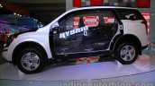 Mahindra XUV500 diesel hybrid side at Auto Expo 2014