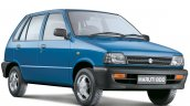 Maruti 800 front three quarter press shot