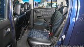 Maruti Stingray rear seats live