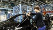 Mercedes-Benz C-Class Bremen plant inauguration gap check press shot