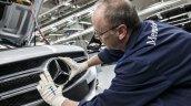 Mercedes-Benz C-Class Bremen plant inauguration logo press shot