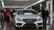 Mercedes-Benz C-Class Bremen plant inauguration rollout press shot