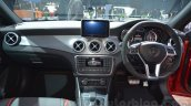 Mercedes CLA 45 AMG dashboard at Auto Expo 2014