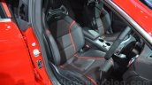 Mercedes CLA 45 AMG driver seat at Auto Expo 2014