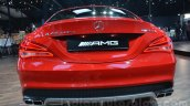 Mercedes CLA 45 AMG rear at Auto Expo 2014