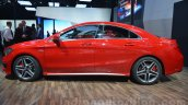 Mercedes CLA 45 AMG side at Auto Expo 2014