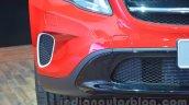 Mercedes GLA airdam at Auto Expo 2014