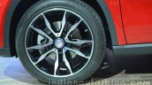 Mercedes GLA alloy wheel at Auto Expo 2014