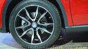 Mercedes GLA alloy wheel at Auto Expo 2014