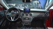 Mercedes GLA dashboard at Auto Expo 2014