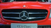Mercedes GLA grille at Auto Expo 2014
