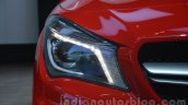 Mercedes GLA headlamp at Auto Expo 2014