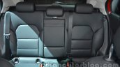 Mercedes GLA rear seat at Auto Expo 2014