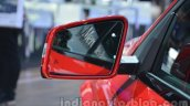 Mercedes GLA side mirror at Auto Expo 2014