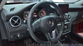 Mercedes GLA steering wheel at Auto Expo 2014