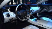 Mercedes S-Class Coupe dashboard at Geneva Motor Show