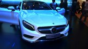 Mercedes S-Class Coupe front at Geneva Motor Show