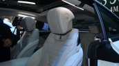 Mercedes S-Class Coupe front seats at Geneva Motor Show