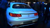 Mercedes S-Class Coupe rear at Geneva Motor Show
