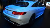 Mercedes S-Class Coupe rear three quarters at Geneva Motor Show