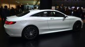 Mercedes S-Class Coupe side at Geneva Motor Show