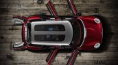 Mini Clubman Concept Geneva 2014 top doors open
