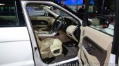 Range Rover Evoque 9-speed front seats at Auto Expo 2014