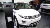 Range Rover Evoque 9-speed front three quarters at Auto Expo 2014