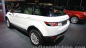Range Rover Evoque 9-speed rear three quarters left at Auto Expo 2014
