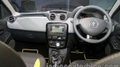 Renault Duster Adventure Edition dashboard full view at Auto Expo 2014