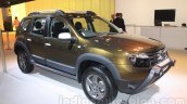 Renault Duster Adventure Edition front three quarter right live