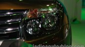 Renault Duster Adventure Edition headlamp at Auto Expo 2014