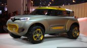 Renault KWID Concept front three quarter live