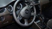 Skoda Octavia Laurin & Klement Edition steering wheel in Geneva
