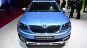 Skoda Octavia Scout front at Geneva Motor Show