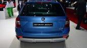 Skoda Octavia Scout rear at Geneva Motor Show