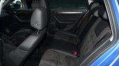 Skoda Octavia Scout rear seat at Geneva Motor Show