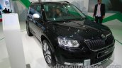 Skoda Yeti facelift at Auto Expo 2014