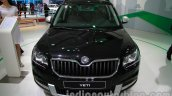 Skoda Yeti facelift front at Auto Expo 2014