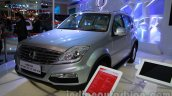 Ssangyong Rexton 2.0L front three quarters at Auto Expo 2014