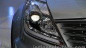 Ssangyong Rexton 2.0L headlight at Auto Expo 2014